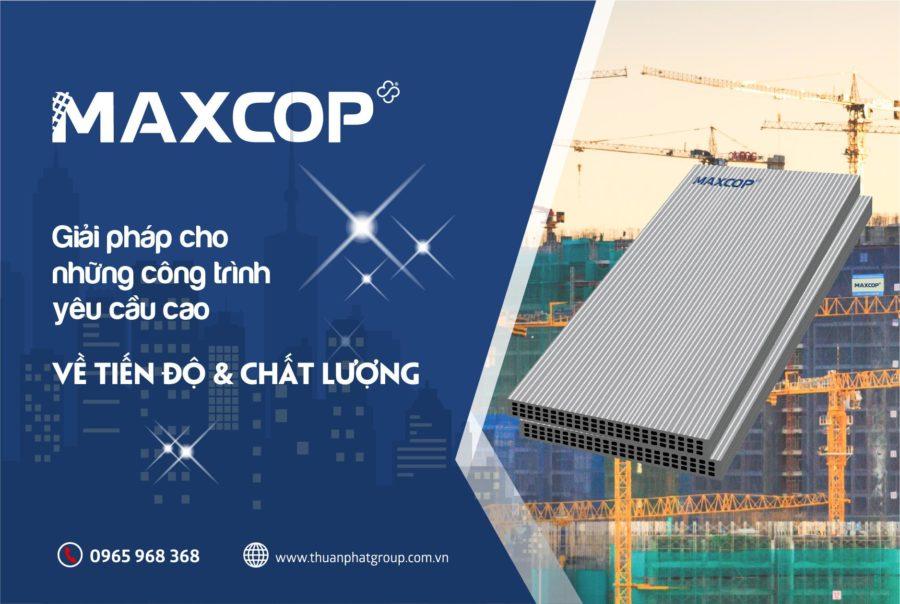 cốp pha nhựa Maxcop -giải pháp cho những công trình
