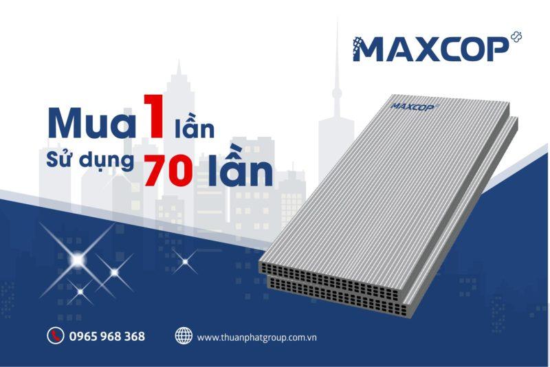 cốp pha nhựa Thuận Phát giúp tiết kiệm chi phí cho các công trình đến 20%