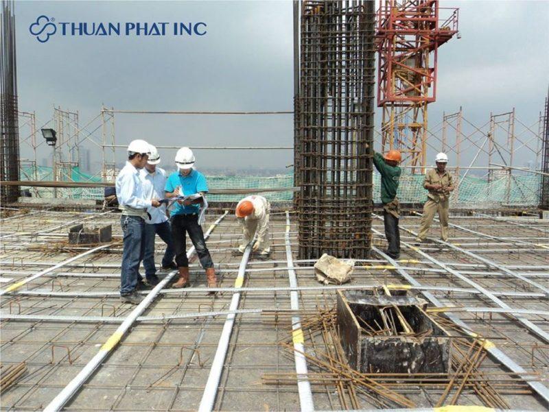 Cốp pha nhựa Thuận Phát dễ dàng lắp đặt và tháo dỡ, thuận tiện cho thi công