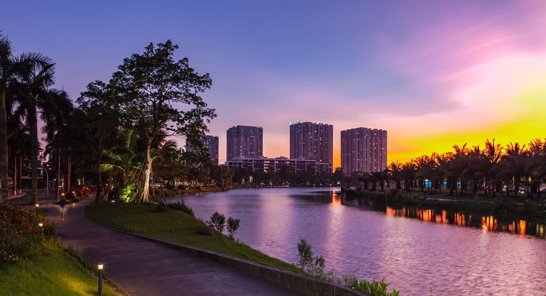 Ecopark - thành phố xanh lớn nhất Việt Nam.