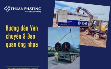 hướng dẫn vận chuyển và bảo quản ống nhựa