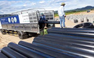 ống nhựa HDPE cho dự án cấp nước sạch