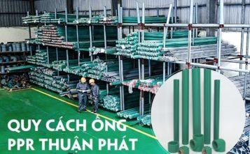 quy cách ống PPR Thuận Phát